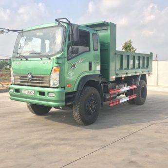Xe tải ben Howo 9.4 tấn nhập khẩu tải trọng cao nhất thị trường