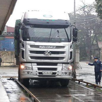 Mức phạt quá tải trọng xe tải cập nhật mới nhất 2020 lái xe cần phải xem