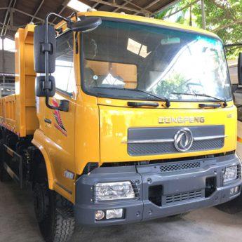 Xe tải ben Dongfeng Hoàng Huy 8 tấn nhập khẩu – Động cơ YC 180HP 6 máy