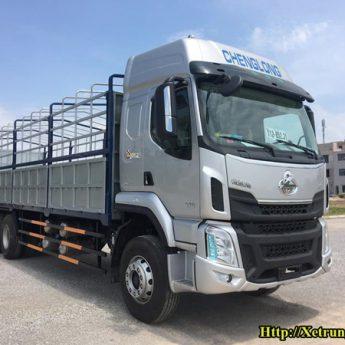 Xe tải 3 chân Chenglong tải trọng 15 tấn E5 2021 nhập khẩu