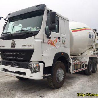 Xe trộn bê tông Howo 12m3 Động cơ Wechai 380HP E5