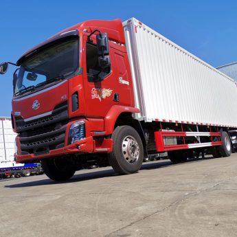 Xe tải Chenglong M3 thùng kín dạng container nhập cả thùng